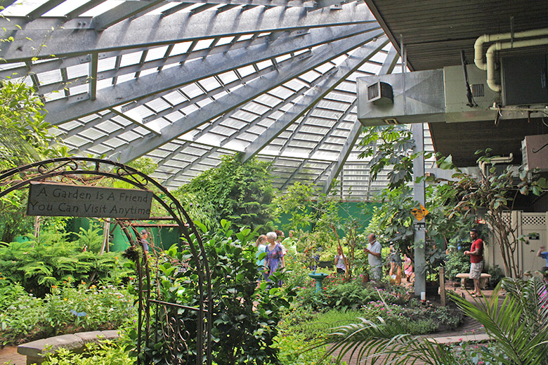 The Butterfly Place - Westford, Massachusetts: An indoor garden ...