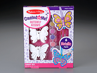 Created by Me! Butterfly Accents Craft Kit