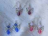 Butterfly Earrings from Jems by Joan