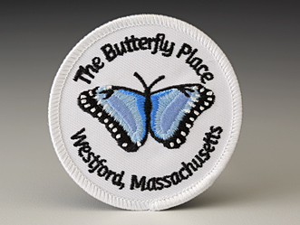 Butterfly Place Iron-On Patch